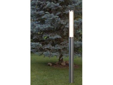 Metal garden lamp post ELYO FL