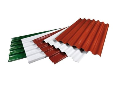 Sheets and panels for roofs