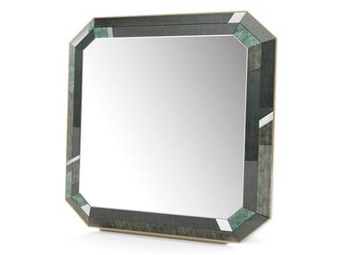 Espelho de apoio quadrado de vidro EMERALD