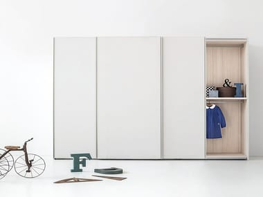 Wardrobe with sliding doors EMERY | Wardrobe with sliding doors