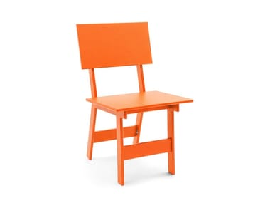 Recycled plastic garden chair EMIN | Chair