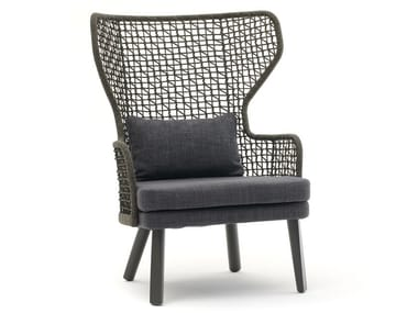 Bergere armchairs