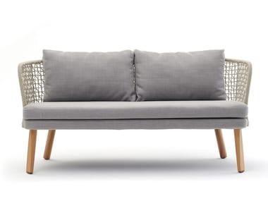 2 seater rope garden sofa EMMA | 2 seater sofa