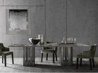 Tavolo da pranzo in marmo EMPIRE | Tavolo in marmo