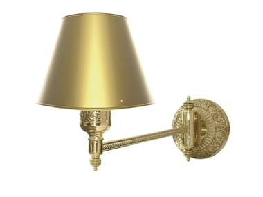 Adjustable brass wall lamp EMPORIO HOTEL I | Wall lamp