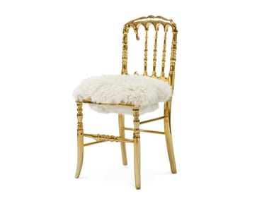 Aluminium chair with integrated cushion EMPORIUM FUR