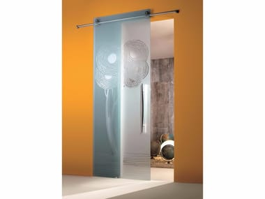Glass sliding door ENALIOS