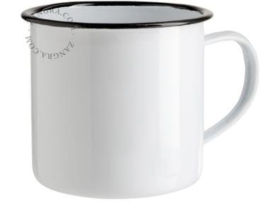 Enamelled metal mug ENAMEL MUG