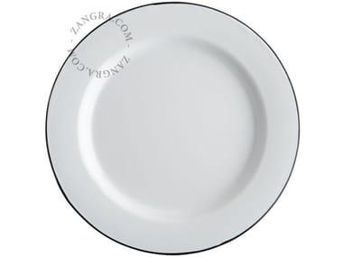 Enamelled metal dinner plate ENAMEL PLATE | Dinner plate  sc 1 st  Archiproducts & Metal Plates | Archiproducts