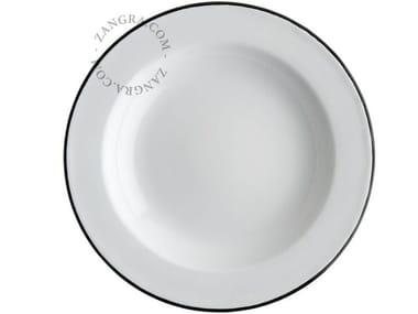 Enamelled metal deep plate ENAMEL PLATE | Deep plate