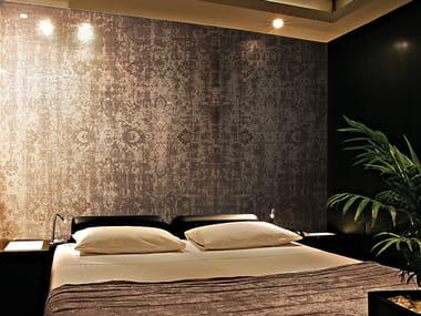 Papel de parede com efeito de tecido ENTRANCE