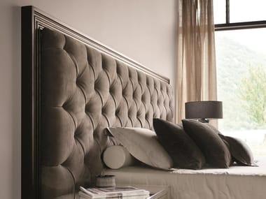 Tufted headboard for double bed ENYA CAPITONNÉ