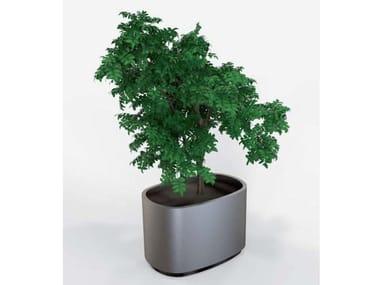 Galvanized steel Flower pot EOLO | Flower pot