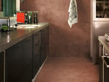 Porcelain stoneware wall/floor tiles with terracotta effect EPOCA