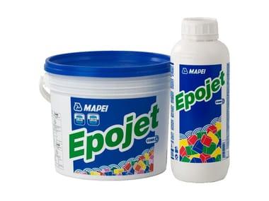 Resina epossidica bicomponente superfluida per iniezioni EPOJET
