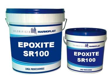 Stucco per pavimenti e pareti in cemento EPOXITE SR100 - STUCCO RASANTE