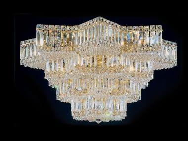 Plafoniere In Cristallo A Soffitto : Lampade da soffitto con cristalli swarovski archiproducts