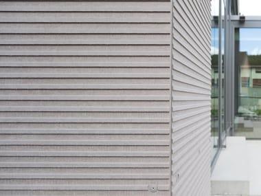 Pannello per facciata ventilata in fibrocemento ecologico EQUITONE [linea]
