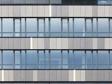 Pannello per facciata ventilata in fibrocemento ecologico EQUITONE [materia]