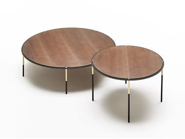 Round HPL coffee table ERA | Round coffee table