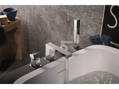 Set vasca a 4 fori con deviatore con doccetta ERGO OPEN | Set vasca con doccetta