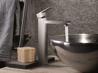 Miscelatore per lavabo monocomando monoforo senza scarico ERGO-Q | Miscelatore per lavabo senza scarico