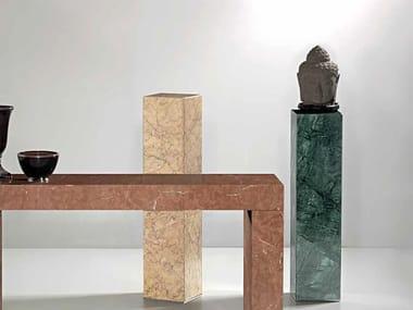 Marble pedestal ERMETE | Pedestal