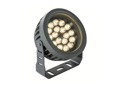 LED adjustable aluminium Outdoor floodlight ERMIS