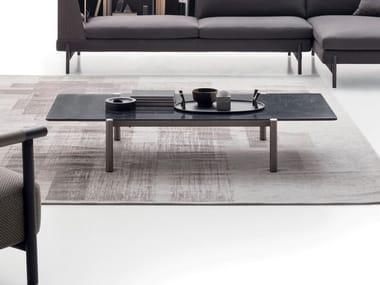Tavolino rettangolare in marmo ERYS | Tavolino in marmo