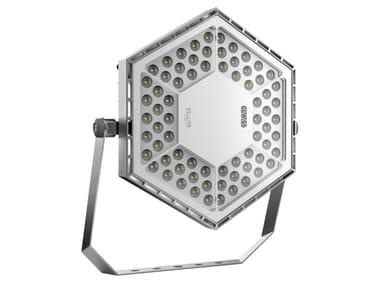 LED die cast aluminium industrial projector ESALITE FL