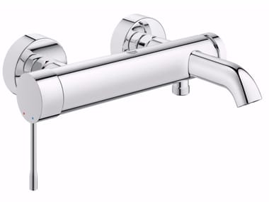 Wall-mounted single handle bathtub mixer with temperature limiter ESSENCE NEW 33624_ | Bathtub mixer