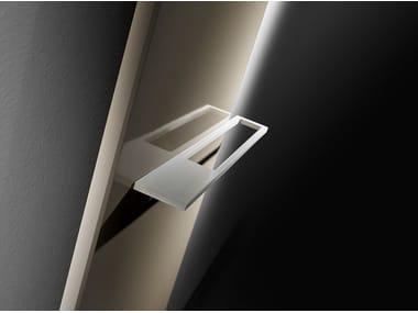 Wall-mounted aluminium decorative radiator ESSENZA