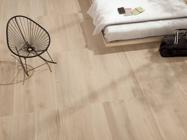 Porcelain stoneware wall/floor tiles with wood effect ESSENCES EXTRA ELM