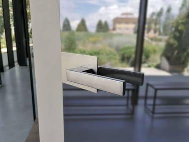 Anta singola in vetro a spingere sinistra ESSENTIAL BATTENTE VETRO MIRR | Anta vetro singolo S SX