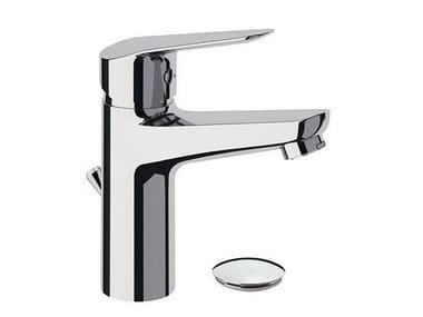 Miscelatore per lavabo monocomando con scarico automatico ESSENZA 393-ES | Miscelatore per lavabo da piano
