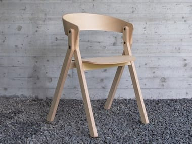 Open back chair 20.20_ESSENZA