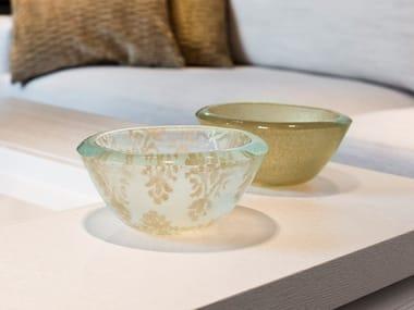 Glass serving bowl BOWL ESTAMPA