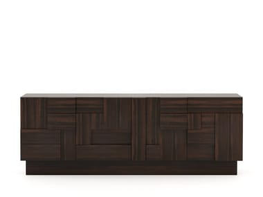 Wooden sideboard with doors ETHAN | Sideboard