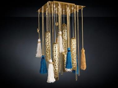 Direct light handmade Murano glass pendant lamp ETICALIVING