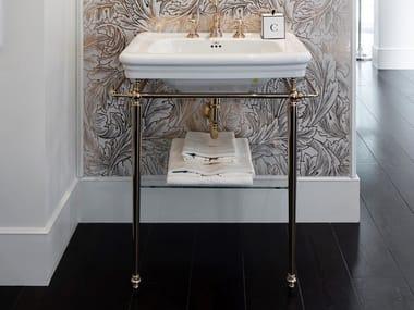 Console de lavabo en laiton ETOILE | Console de lavabo