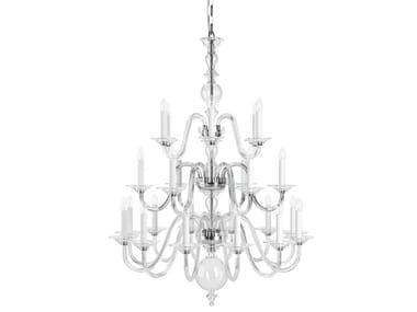 Direct light handmade crystal chandelier EUGENE HISTORIC DESIGN