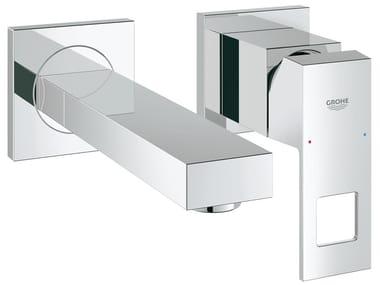 Miscelatore per lavabo a 2 fori a muro EUROCUBE SIZE S | Miscelatore per lavabo a 2 fori