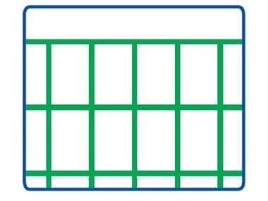 Rete elettrosaldata zincata e plastificata EURONET® PLAST M/G | 75 x 50 PESANTE