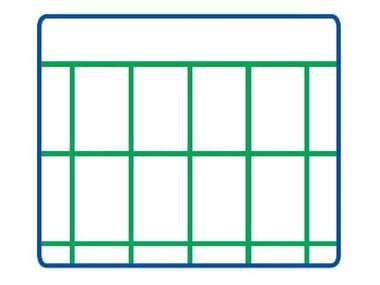 Rete elettrosaldata zincata e plastificata EURONET® PLAST M/G | 75 x 50 STANDARD