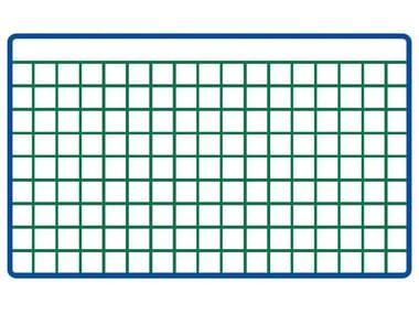 Rete zincata e plastificata a maglie piccole EURONET® PLAST M/P | 12 x 12