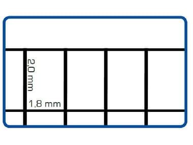 Rete elettrosaldata zincata EURONET® ZINC M/G | 75 x 50 CERTIFICATA