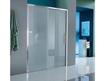 Box doccia a nicchia con porta scorrevole EUROPA SP | Box doccia a nicchia
