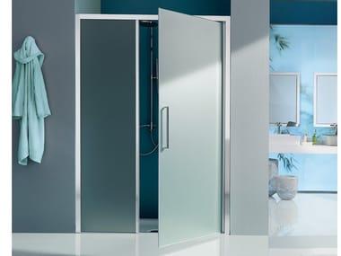 Box doccia a nicchia con porta a battente EUROPA SP | Box doccia con porta a battente