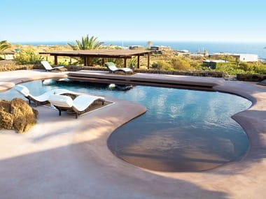 Concrete and cement-Based materials Pool liner EUWORK POOL&SPA
