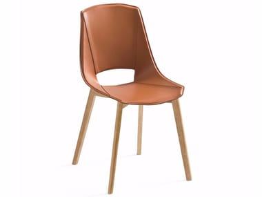 Bonded leather chair EVA 5